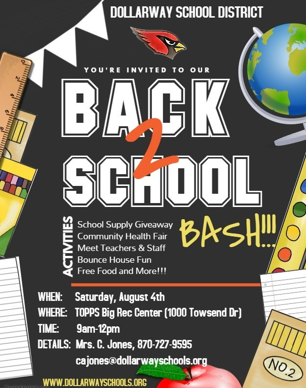 DOLLARWAY BACK TO SCHOOL BASH