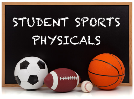FREE ATHLETIC PHYSICALS