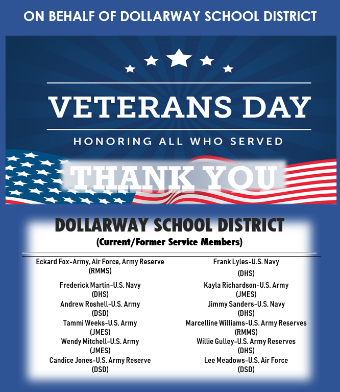 CELEBRATING VETERANS DAY