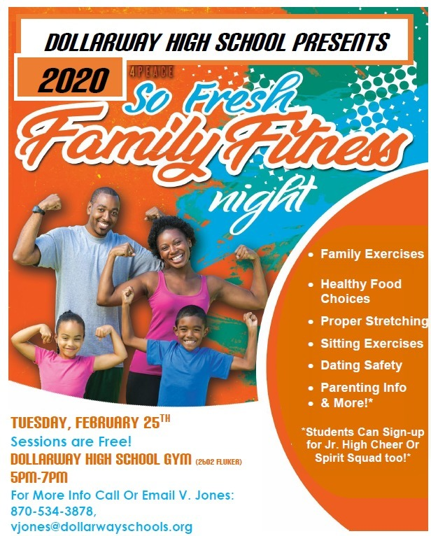 DHS-FAMILY FITNESS NIGHT