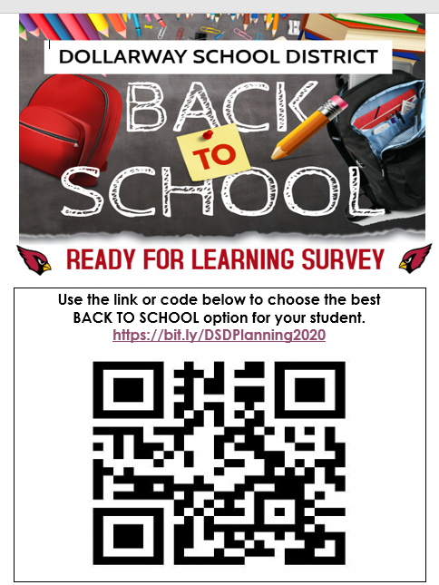 REMINDER: COMPLETE THE BACK TO SCHOOL SURVEY