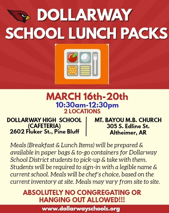 DOLLARWAY PROVIDING STUDENT MEALS