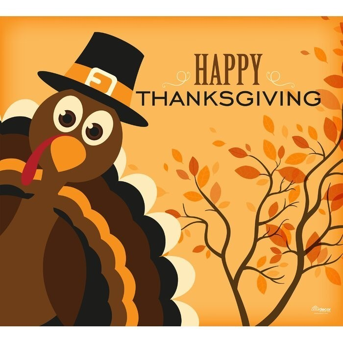 CLOSED THANKSGIVING WEEK-NOV. 25th-29th