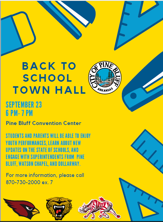 MAYOR'S BACK TO SCHOOL TOWN HALL MEETING