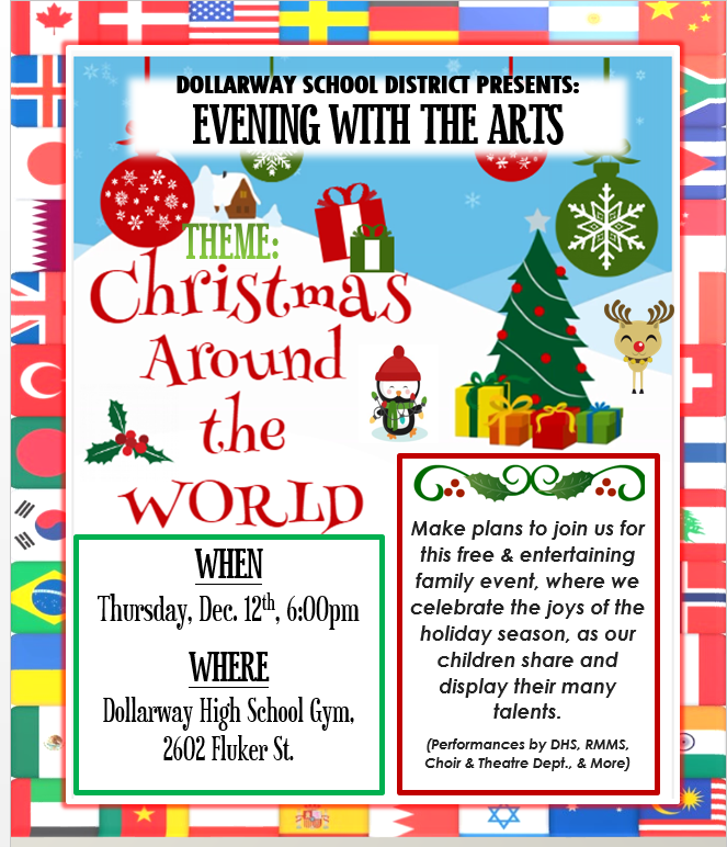 EVENING WITH THE ARTS: CHRISTMAS AROUND THE WORLD