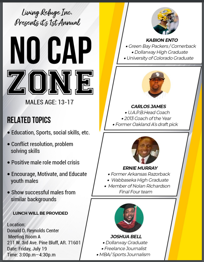 NO CAP ZONE: DOLLARWAY ALUM & LOCAL SPORTS LEGENDS