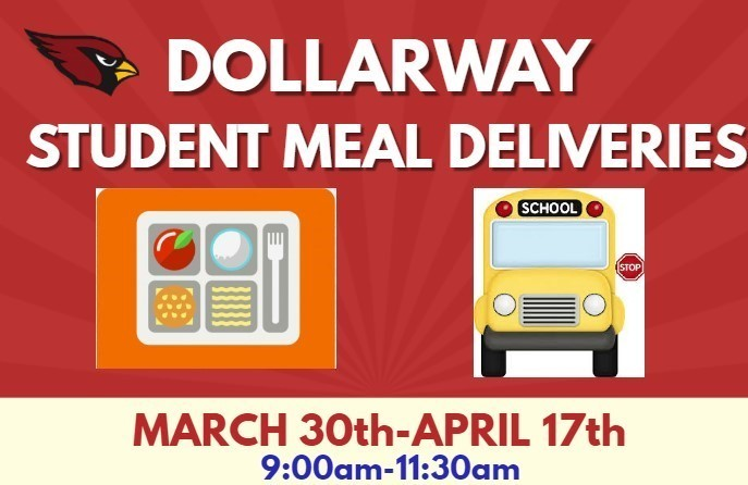 DSD STUDENT MEAL DELIVERIES-MARCH 30th-APRIL 17th