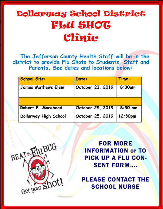 DISTRICT FLU SHOT CLINIC