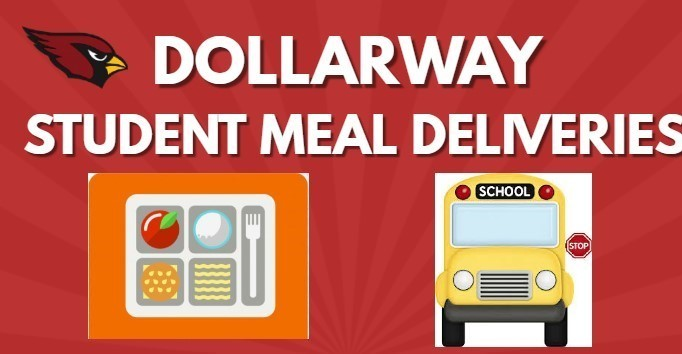 REMINDER: REVISED MEAL DELIVERY SCHEDULE