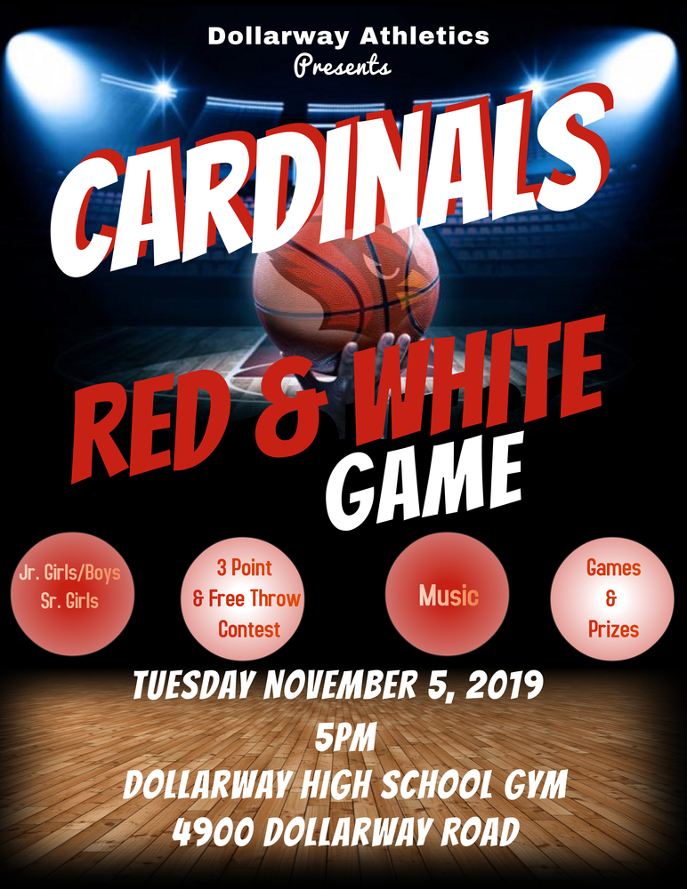 RED & WHITE GAME!!!