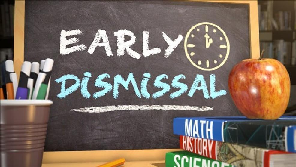 NOV. 6TH--NEXT EARLY DISMISSAL DATE