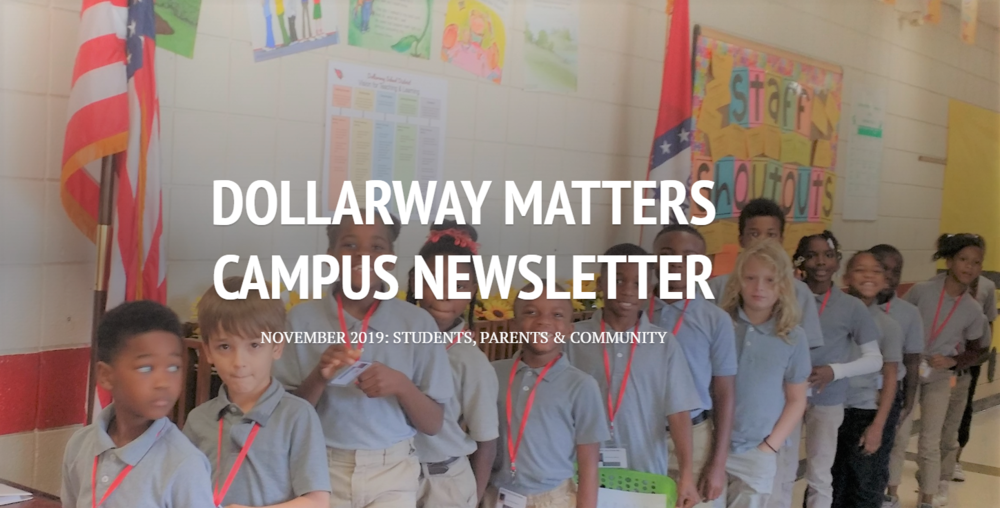 NOVEMBER CAMPUS NEWSLETTER