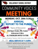 COMMUNITY VOICES: ANNUAL REPORT TO THE PUBLIC
