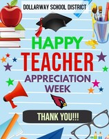 MAY 4TH-8TH TEACHER APPRECIATION WEEK