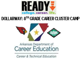 CAREER CLUSTER CAMP FOR 8TH GRADERS