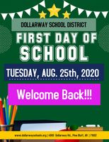 TOMORROW: FIRST DAY OF SCHOOL!!!