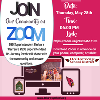 JOINT COMMUNITY ZOOM MEETING