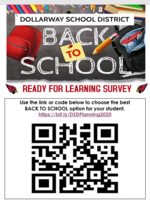 REMINDER: COMPLETE BACK TO SCHOOL SURVEY