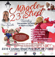 COMMUNITY HOLIDAY EVENT: MIRACLE ON 23rd STREET