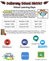 DSD Virtual Learning Days Begin September 2, 2020!