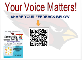COMMUNITY VOICES--SHARE YOUR FEEDBACK