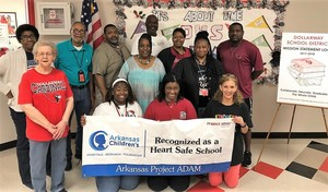 DHS IS A PROJECT ADAM-HEART SAFE SCHOOL!!!