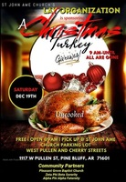 CHRISTMAS TURKEY GIVEAWAY