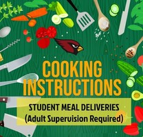 MEAL DELIVERY: COOKING INSTRUCTIONS