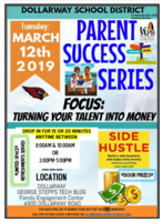 PARENT SUCCESS SERIES: USING YOUR TALENTS