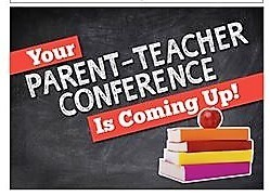 PARENT TEACHER CONF SIGN