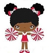CHEERLEADER CARTOON FIGURE